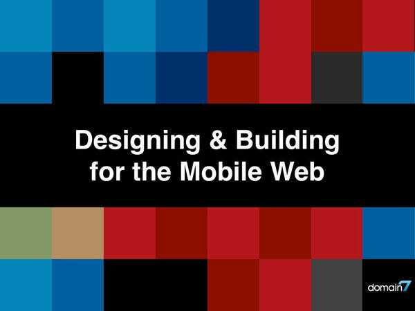 Mobile Web Workshop